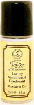 Taylor of Old Bond Street Sandalwood Luxury Deodorant Roll-On