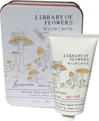 Library of Flowers Willow & Water Hand Creme - Hampton Court Essential Luxuries