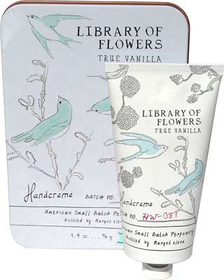 Library of Flowers True Vanilla Hand Creme