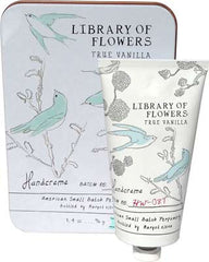 Library of Flowers True Vanilla Hand Creme - Hampton Court Essential Luxuries