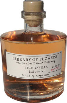 Library of Flowers True Vanilla Bubble Bath