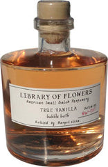 Library of Flowers True Vanilla Bubble Bath - Hampton Court Essential Luxuries