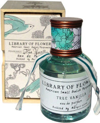 Library of Flowers True Vanilla Eau De Parfum - Hampton Court Essential Luxuries