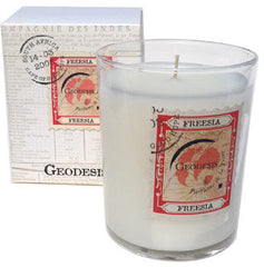 Geodesis Freesia 220g Scented Candle - Hampton Court Essential Luxuries