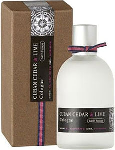 Bath House Cuban Cedar & Lime Cologne