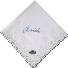 Vintage-Inspired Hanky - Elegant White Bride Hanky - Hampton Court Essential Luxuries