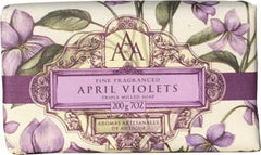 Somerset Toiletries AAA April Violets Soap - Hampton Court Essential Luxuries
