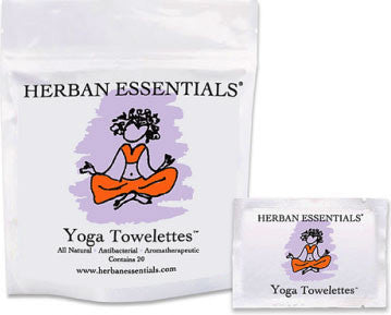 Herban Essentials Essential Oil Towelettes - Yoga Towelettes
