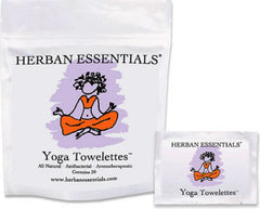 Herban Essentials Essential Oil Towelettes - Yoga Towelettes - Hampton Court Essential Luxuries