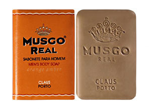 Claus Porto Musgo Real Orange Amber Mens Body Soap