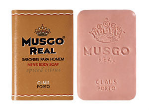 Claus Porto Musgo Real Spiced Citrus Mens Body Soap