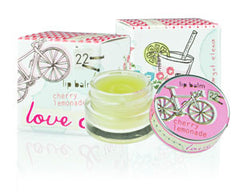 Love & Toast Lip Balm - Cherry Lemonade - Hampton Court Essential Luxuries