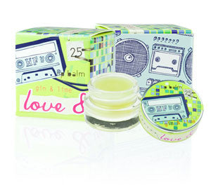 Love & Toast Lip Balm - Gin & Lime