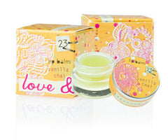 Love & Toast Lip Balm - Vanilla Chai - Hampton Court Essential Luxuries