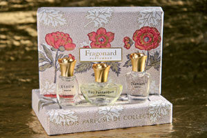 Fragonard Gift Box of 3 Miniature Perfumes