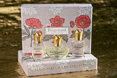 Fragonard Gift Box of 3 Miniature Perfumes - Hampton Court Essential Luxuries