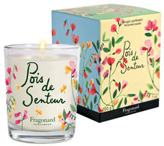 Fragonard Sweet Pea Candle - Hampton Court Essential Luxuries