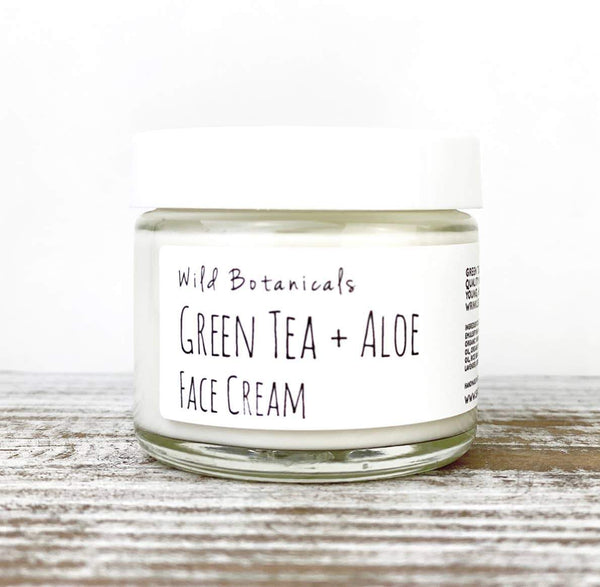 Wild Botanicals Green Tea and Aloe Face Cream