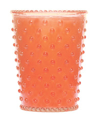 Simpatico NO. 71 GUAVA HOBNAIL GLASS CANDLE
