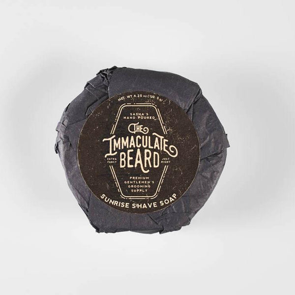 The Immaculate Beard - Shave Soap Puck