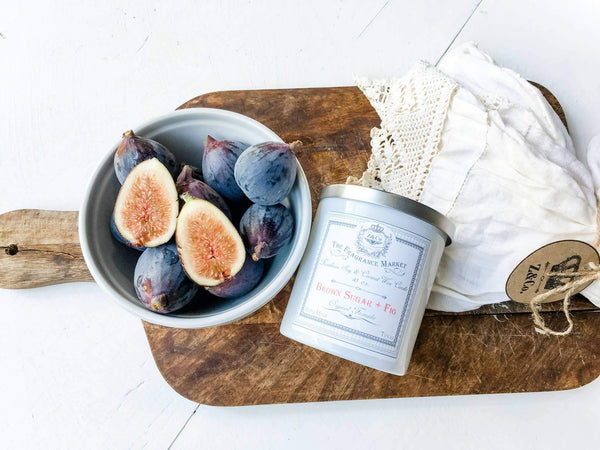 Z&Co. Brown Sugar + Fig Farmhouse Collection Candle
