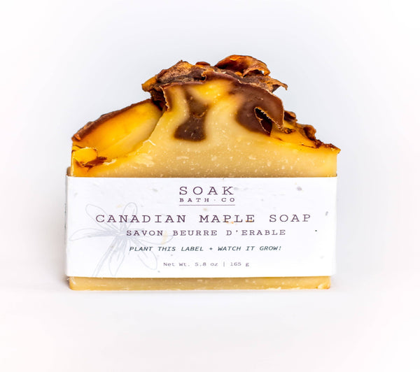 SOAK Bath Co. - Canadian Maple Soap Bar