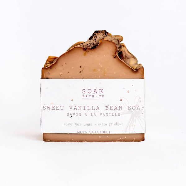 SOAK Bath Co. - Sweet Vanilla Bean Soap
