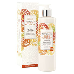 Terra Nova Shea Blossom Body Lotion Shea Butter And Marula Oil