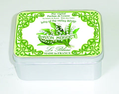 Le Blanc 100gm Soap Tin - Lily of the Valley