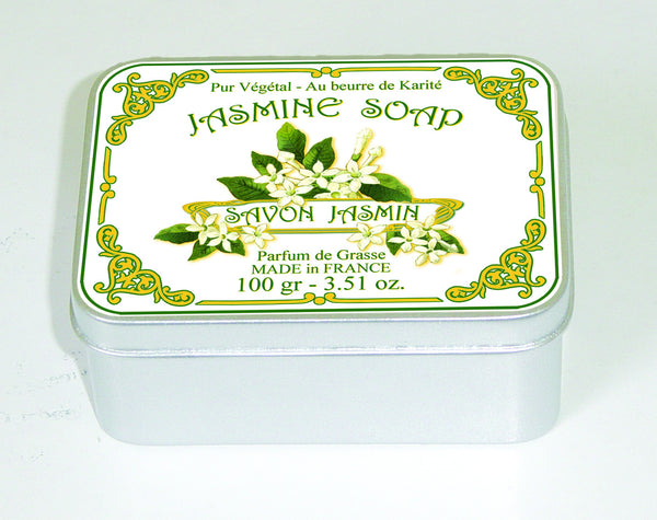 Le Blanc 100gm Soap Tin - Jasmine