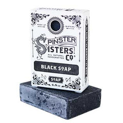 Spinster Sisters Black Soap w/ Activated Charcoal (Coriander Lemon)