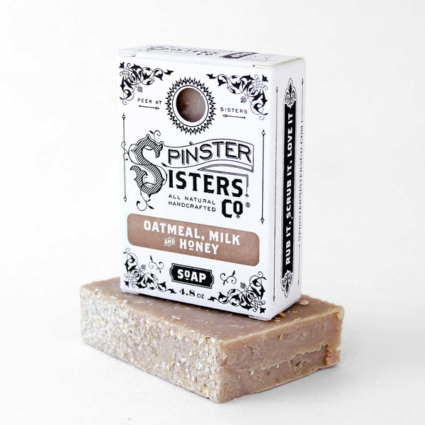 Spinster Sisters Bath Soap - Oatmeal Milk and Honey