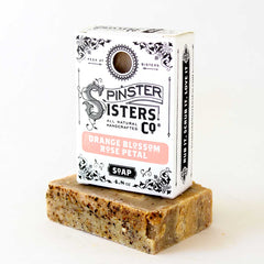 Spinster Sisters Bath Soap - Orange Blossom Rose Petal