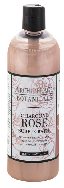 Archipelago Charcoal Rose Bubble Bath