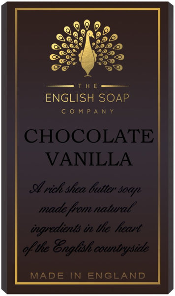 The English Soap Co. Pure Indulgence Chocolate Vanilla Soap