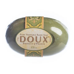 French Soaps Doux extrapur Olive - Hampton Court Essential Luxuries