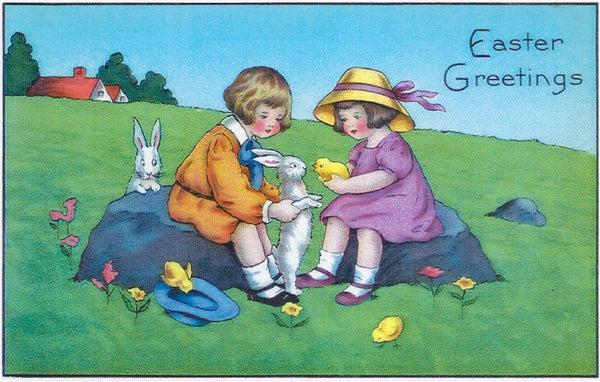 Easter Greeting Card - Easter Greetings