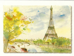All Occasion Greeting Card - Eiffel Tower