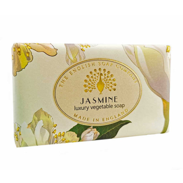 The English Soap Co. Jasmine Vintage Italian Wrapped Soap