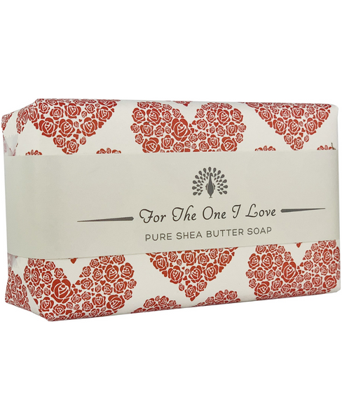 The English Soap Co. For The One I Love Red Heart Occasion Soap