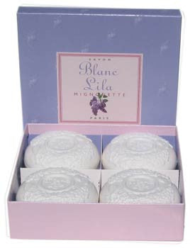 Blanc Lila (white lilac) Soap - Gift Box