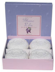 Blanc Lila (white lilac) Soap - Gift Box - Hampton Court Essential Luxuries
