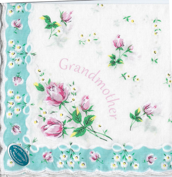 Vintage-Inspired Hanky - Grandmother  Hanky