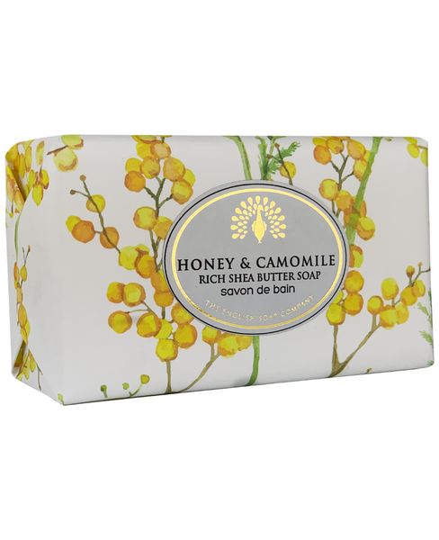 The English Soap Co. Honey & Camomile Vintage Italian Wrapped Soap