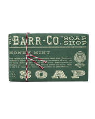 Barr-Co. Honey Mint Triple Milled Bar Soap