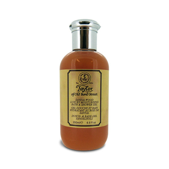 Taylor of Old Bond Street Sandalwood Luxury Moisturizing Bath & Shower Gel - 200ml