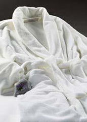 Ultra-luxe Plush Robe - Ivory - Sonoma Lavender Shop - 2