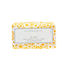 Lollia At Last Shea Butter Soap