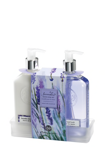 Mangiacotti Lavender Bath or Kitchen Sink Set
