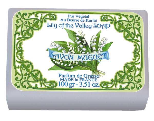 Le Blanc Lily of the Valley Wrapped Soap